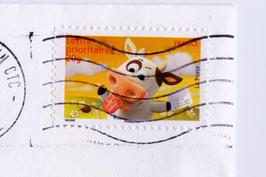 la vache postale